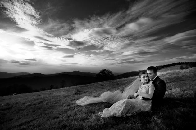 fotografia ślubna - sesja w górach 5