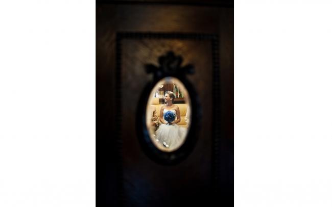 fotografia ślubna - przygotowania lustro, Rybnik 2