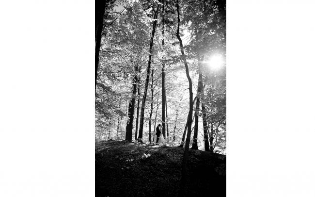 fotografia ślubna - Leśny plener ślubny Rybnik 3