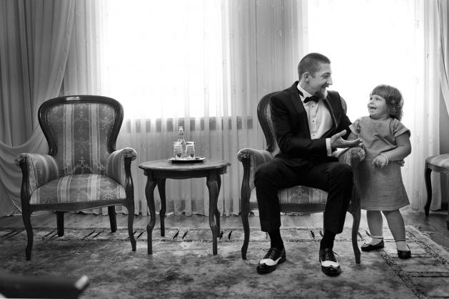 fotografia ślubna - Przygotowania w hotelu