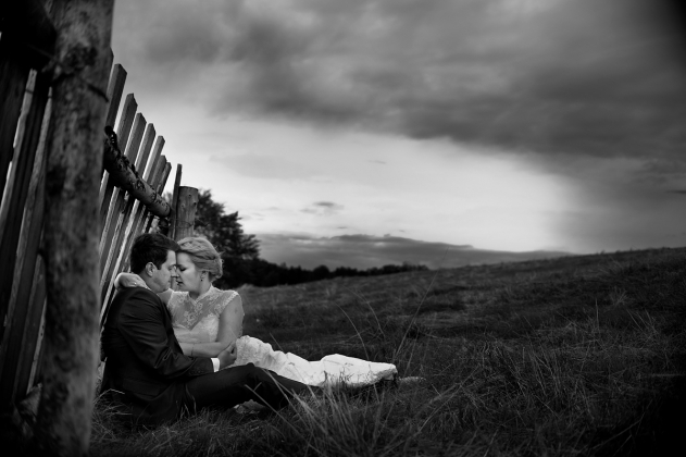 fotografia ślubna - Zdjęcia slubne w górach sesja w górach