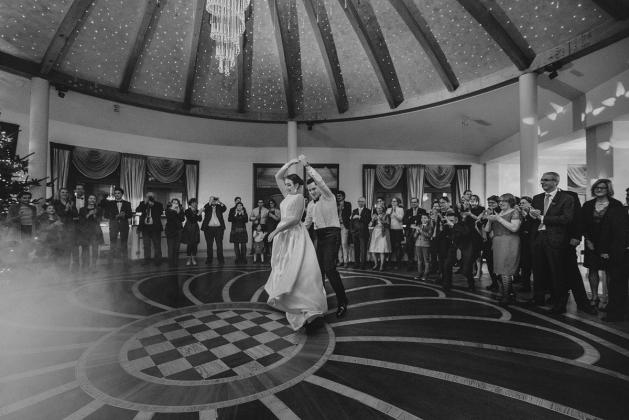 fotografia ślubna - Pierwszy taniec