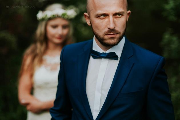 fotografia ślubna - Portret pana młodego