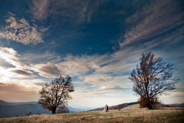 fotografia ślubna - Sesja w górach