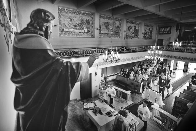 fotografia ślubna - Zdjęcia w Kościele Rybnik