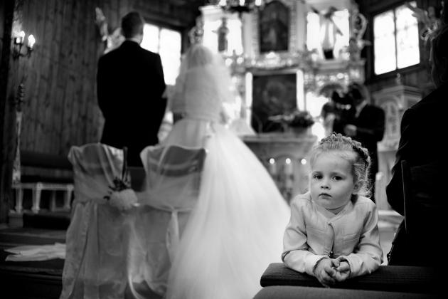 fotografia ślubna - przysięga ślubna w kościele Rybnik 2