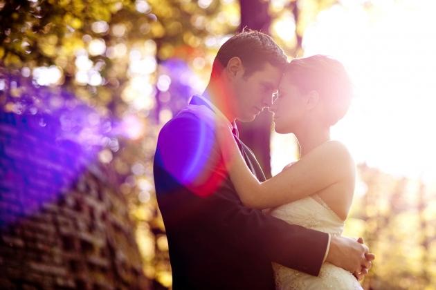 fotografia ślubna - romantyczna sesja slubna